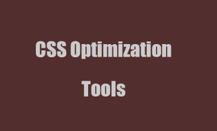 css-optimization-tools