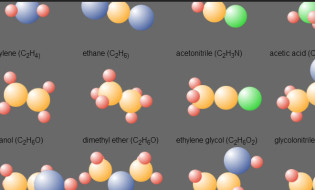 pure-css-animated-3d-molecules